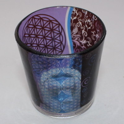 Flower of Life Tealight Candle Holder