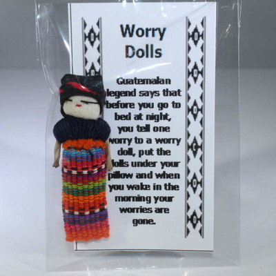 Guatemalan Worry Doll