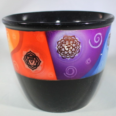 Cermaic Smudge Holder - Chakra