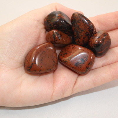 Obsidian - Mahogany Polished
