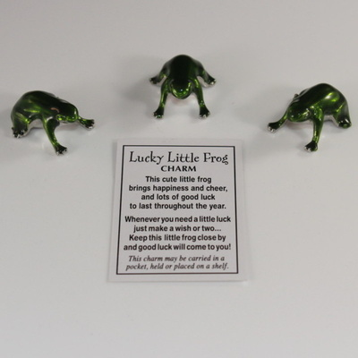 Lucky Little Frog Token