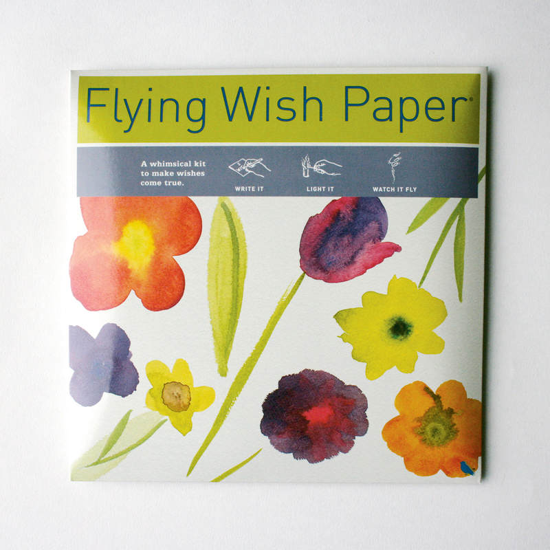 May Bouquet Flying Wish Paper Large Kit