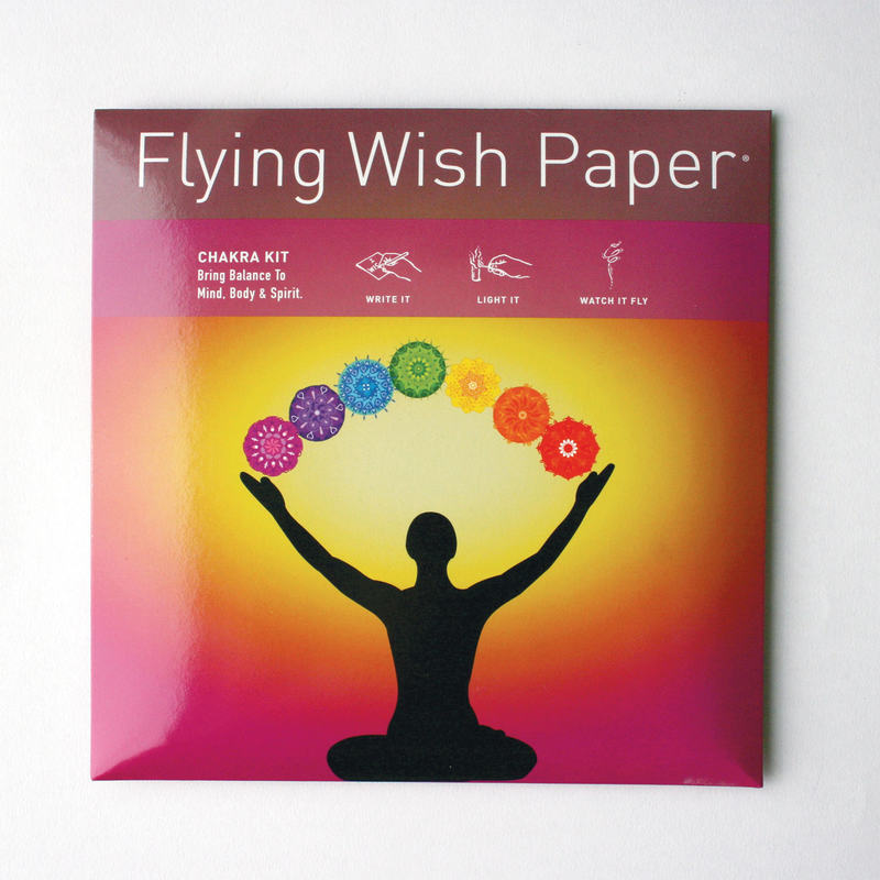 Chakra Flying Wish Paper Large Kit