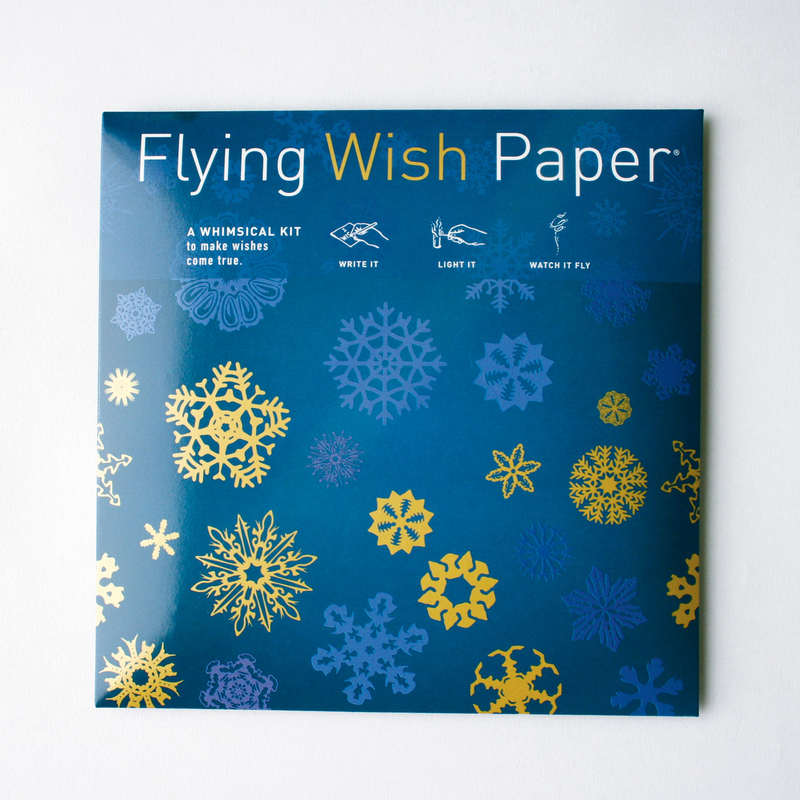 Midnight Blue  Flying Wish Paper Large Kit