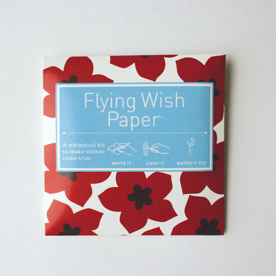 Ruby Reds Flying Wish Paper  Mini Kit