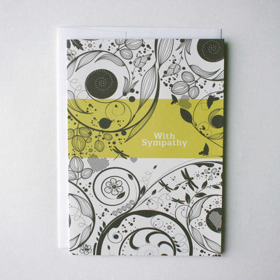 Sympathy Swirl Flying Wish Paper  Greeting Card Kit