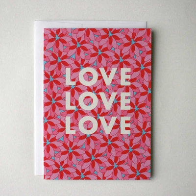Love You Flying Wish Paper Greeting Card Kit