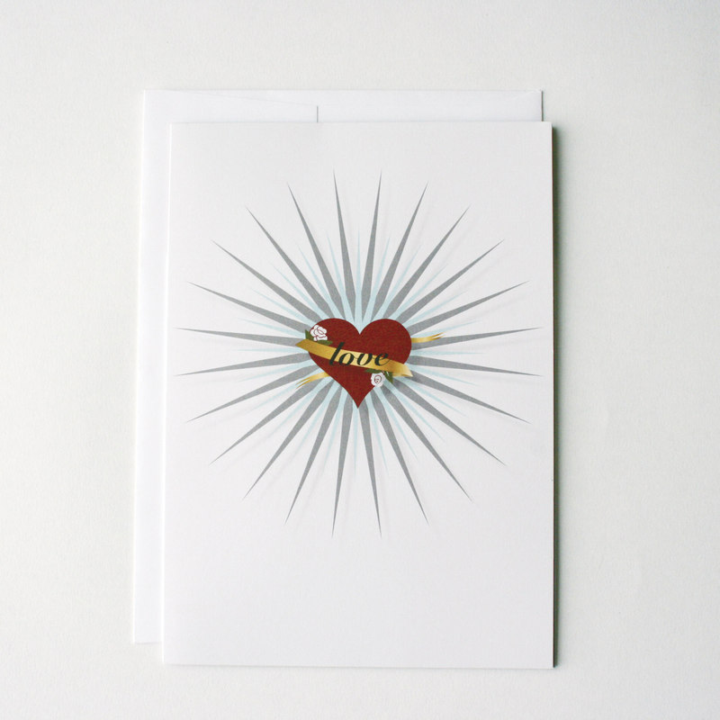 Tattoo Love Greeting Card Kit