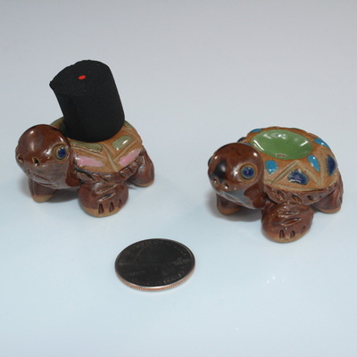 Mini Turtle Incense Burner