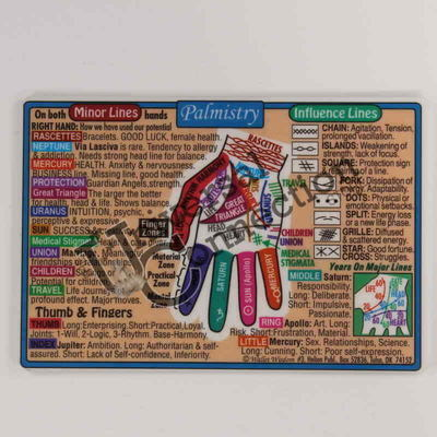 Palmistry Wallet Card