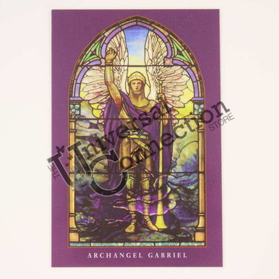 Archangel Gabriel Wallet Card