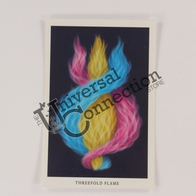 Threefold Flame Wallet Card