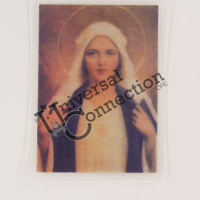 Mother Mary Wallet Card