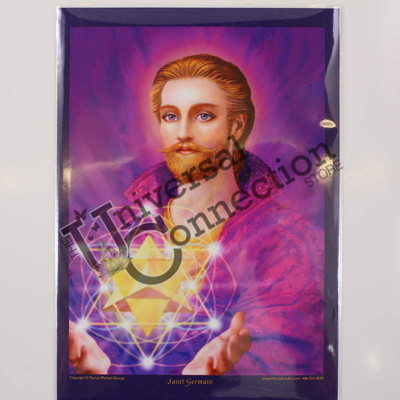 Saint Germain Altar Card