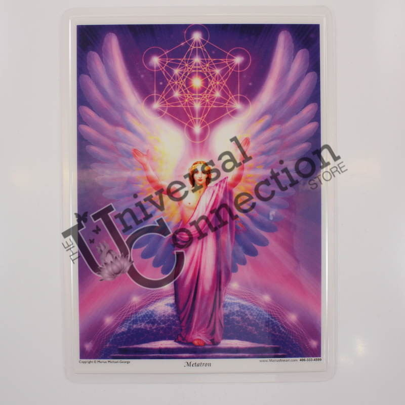 Archangel Metatron Altar Card