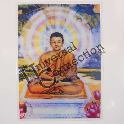 Lord Guatama the Buddha Altar Card