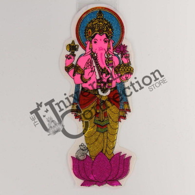 Ganesh Sticker - Lotus Flower