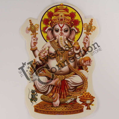 Ganesh Sticker - Dancing Ganesh