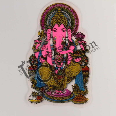 Ganesh Sticker - Offering