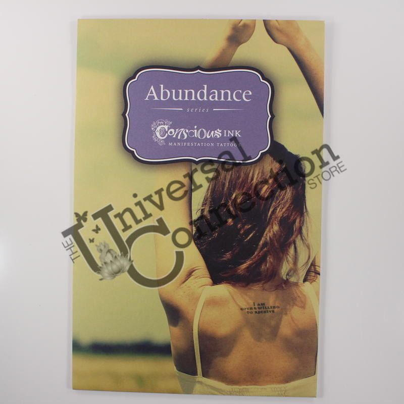 Abundance Manifestation Temporary Tattoo Pack