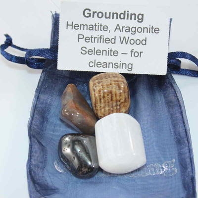 Crystal Intention Kit - Grounding