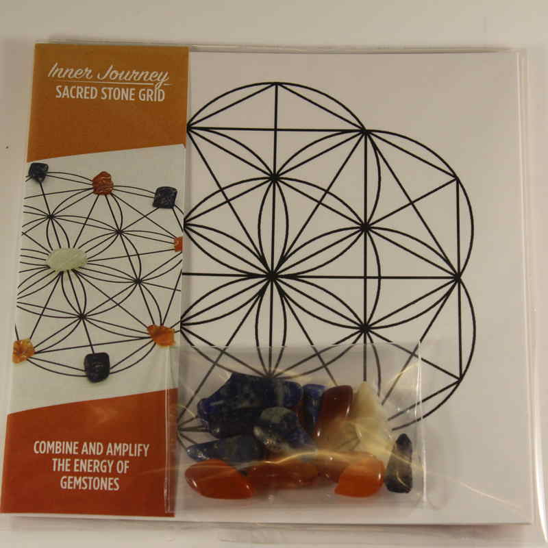 Mini Sacred Stone Grid - Inner Journey