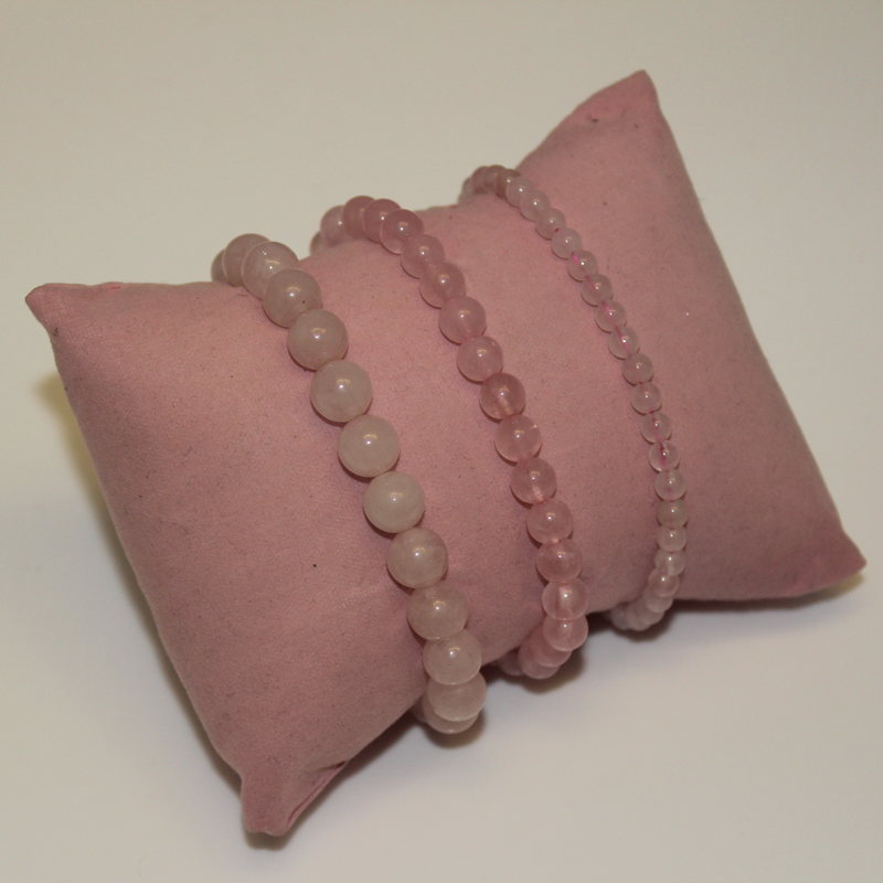 Rose Quartz Stretchy Bracelet