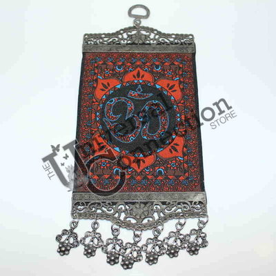 Om Hanging Wall Carpet