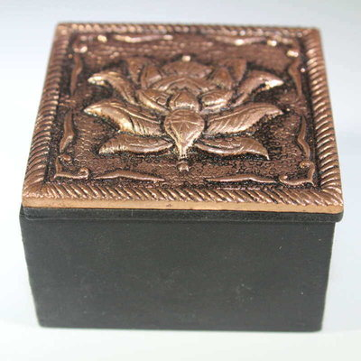 Decorative Trinket Box - Lotus Flower