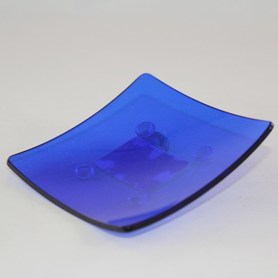 Small Square Glass Plate