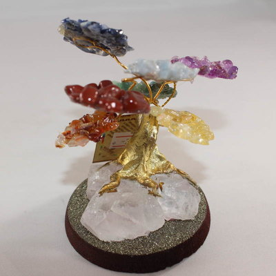 Chakra Crystal Bonsai Tree