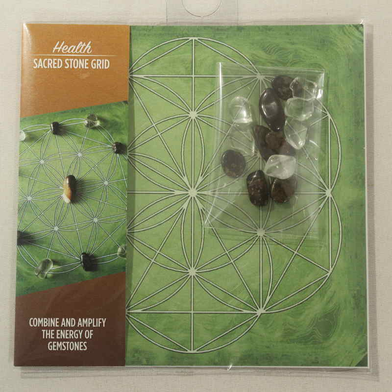 Mini Sacred Stone Grid-Health