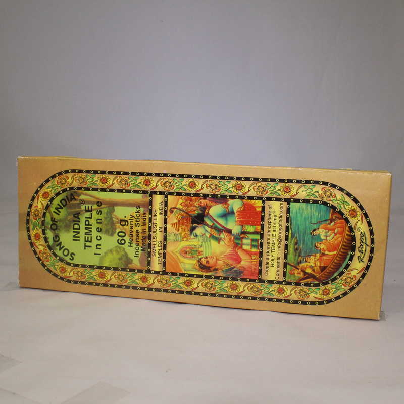 India Temple Incense Sticks - 60g