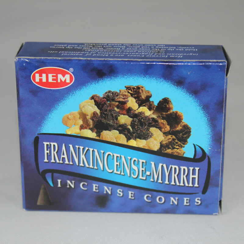 Frankincense and Myrrh Incense Cones-HEM