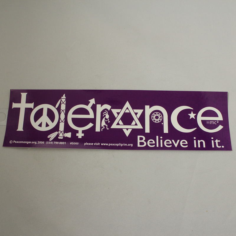 Intolerance  Sticker