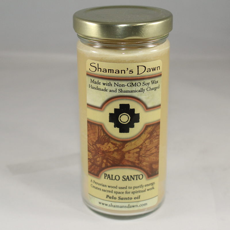 Palo Santo Candle Jar-Shaman Dawn