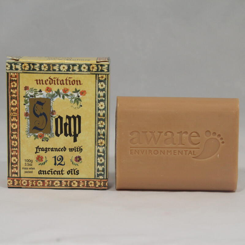 Meditation Oil - Soap Bar