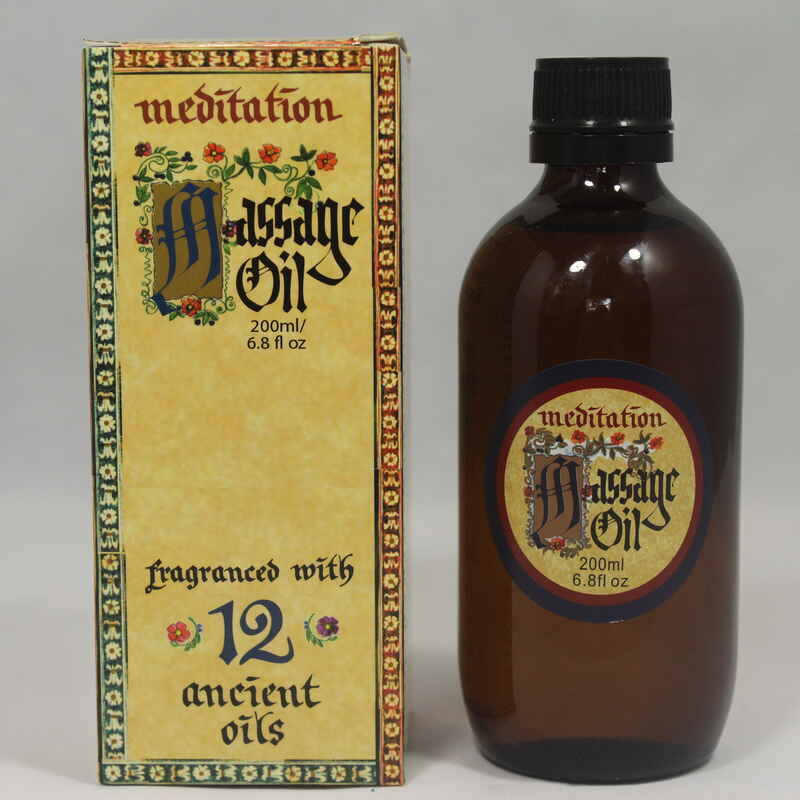 Meditation Oil - Massage Oil 200ml