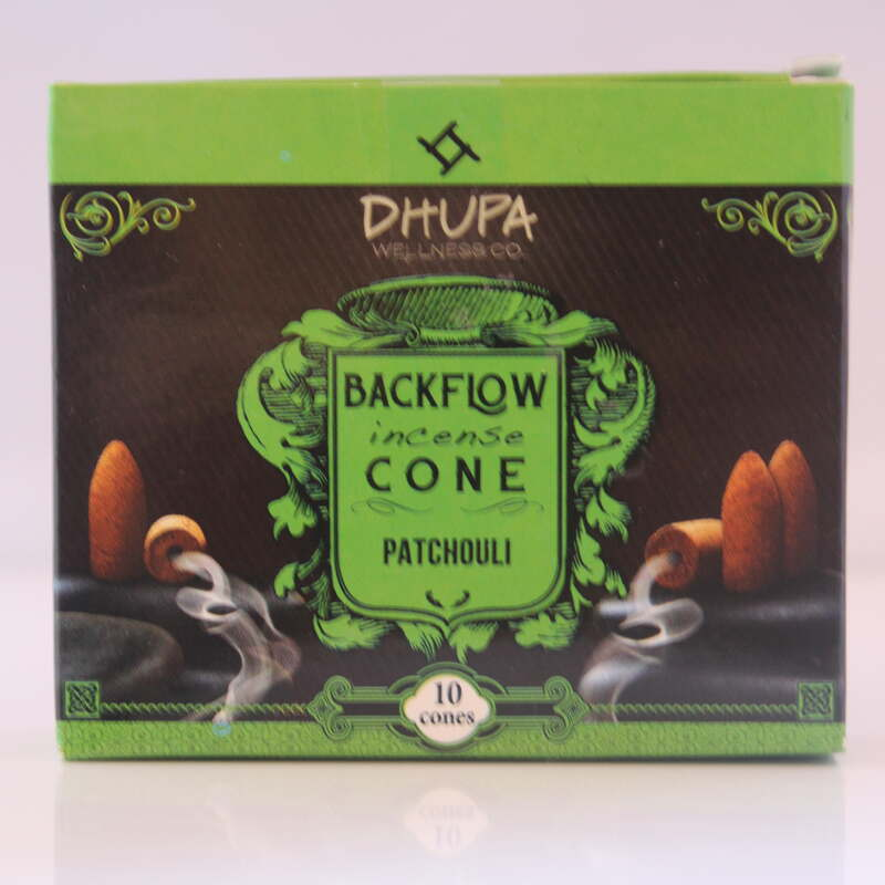 Patchouli Backflow Incense Cones