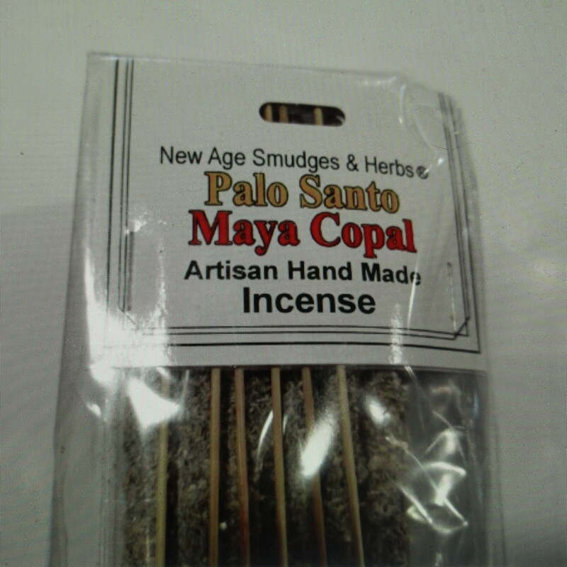 Artisan Palo Santo & Maya Copal Resin Incense Sticks