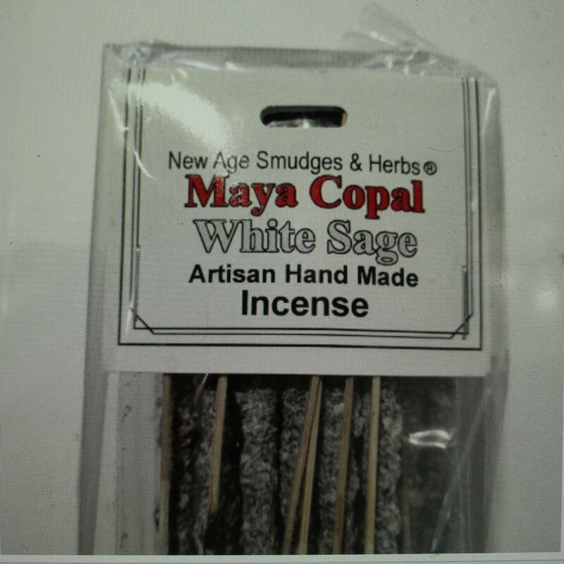 Artisan White Sage & Maya Copal Resin Incense Sticks