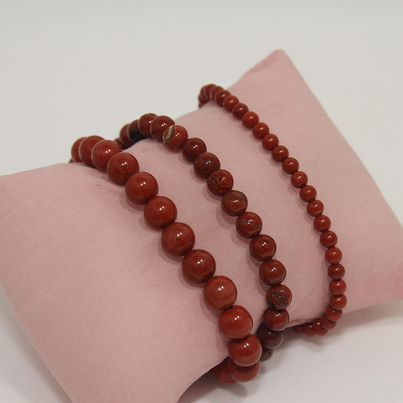Red Jasper Stretchy Bracelet