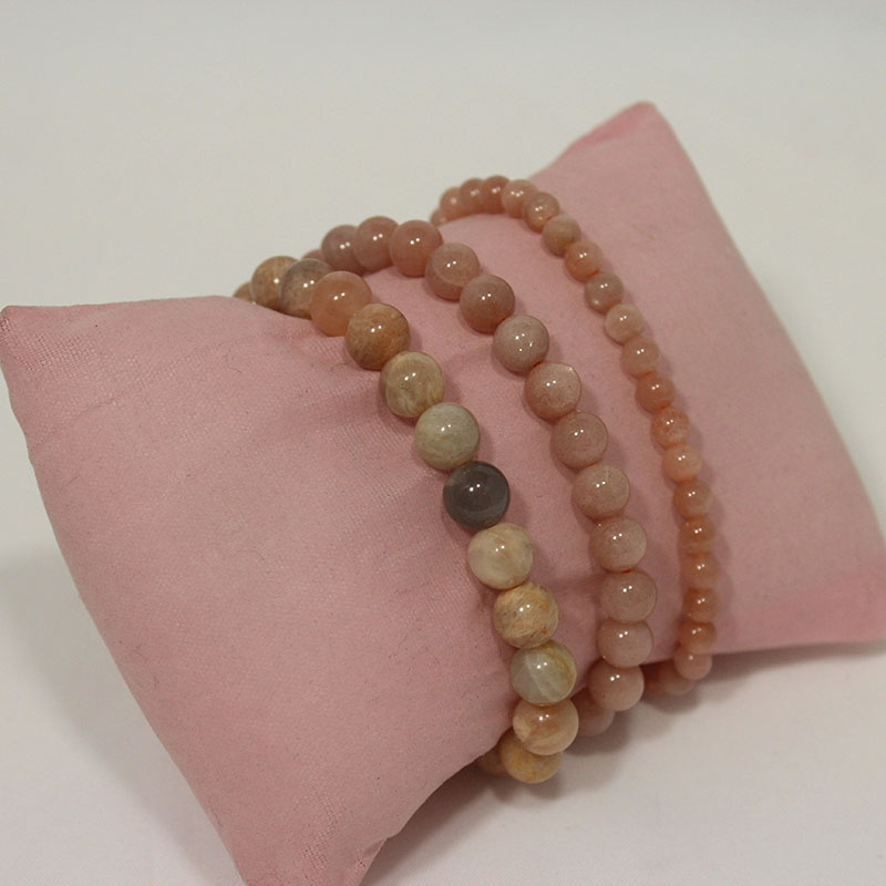 Moonstone - Mixed Stretchy Bracelet