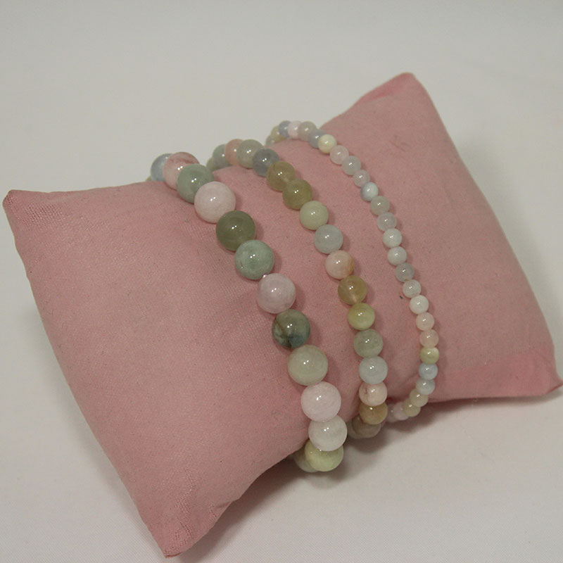 Morganite Stretchy Bracelet