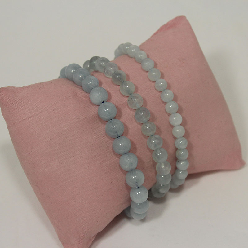 Aquamarine Stretchy Bracelet