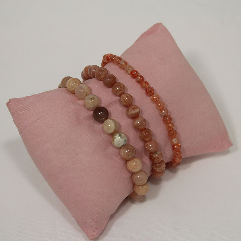 Sunstone Stretchy Bracelet