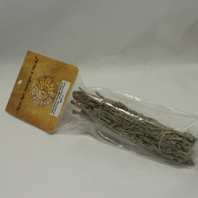 "Palo Santo Smudge Stick 4"" (Mountain Sage & Palo Santo Wood Powder)"