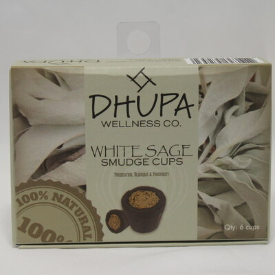 White Sage Smudge Cups