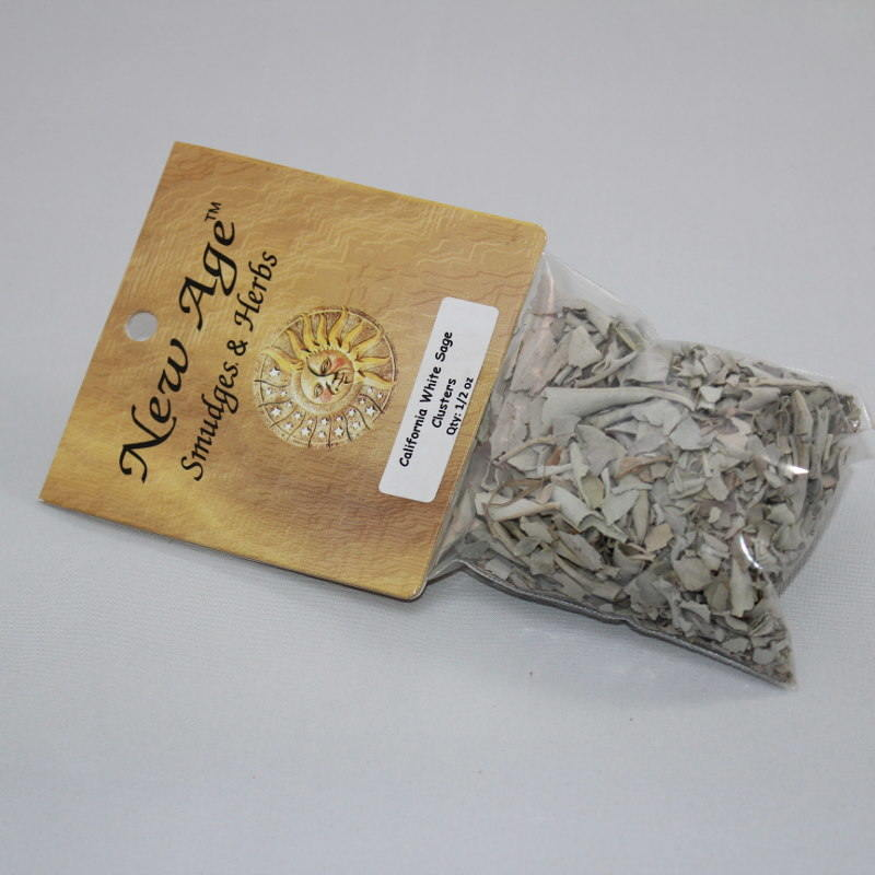 California White Sage Clusters - 1/2 oz
