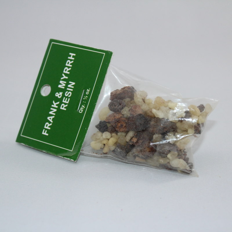 Frank Incense and Myrrh Resin - 1/2 oz